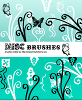 Misc brushes 01 by So-ghislaine