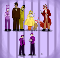 Fnaf 1 by Maimed-Bunny