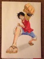 Monkey D. Luffy by Yachiru-likes-candy