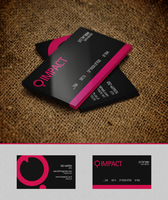 Business Card - impact by ImPact-Design
