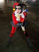 Steampunk Harley Quinn by MooneWolfe