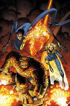 Art Adams Fantastic Four Cover by CeeCeeLuvins