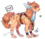 Mail Courier outfit by Avalanto