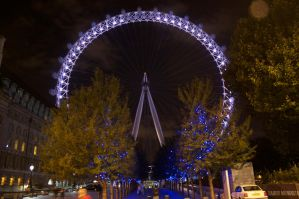 London Eye 1 by TadeoMendoza