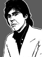 A young Bryan Ferry by Liko
