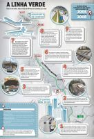 green line infographic by carvalhodg