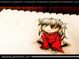3D Art - Inuyasha by EdyZhng