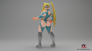 3D REnder Pose R.Mika by Olibuz