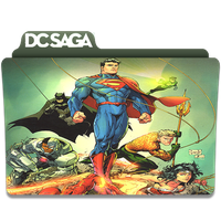 Dc Saga by sostomate9