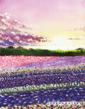 Fields of Lilac by Jadesweetboxx