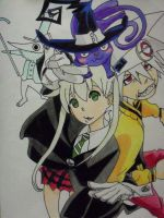 Soul Eater by pindii