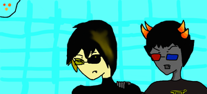 Circuit and Sollux by kerske12