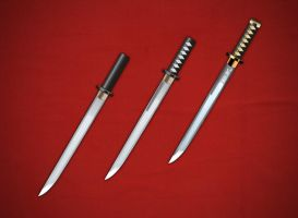 Samurai swords for game by Vadich