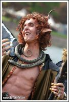 Elf Fantasy Fair - Bacchus by RedCathedral