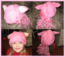 Pink Pony Hat by CyberSunbeam