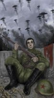 Storm Clouds over Stalingrad by Naythynn