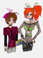 Older timmy and Vicky by Narutostalker
