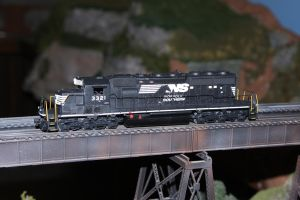 Norfolk Southern SD40-2 by 3window34