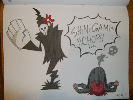 SHINIGAMI CHOP by DeviantPirateCaptain
