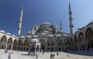 Bleu Mosque or Sultanahmet Camii by Dany-Art