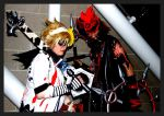 Halloween Town Axel and Roxas by KellyJane