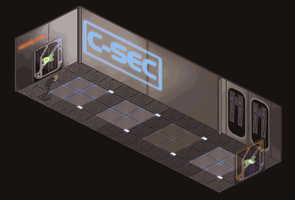 Mass Effect WIP: Security Check by fang