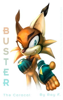 Commission: Buster by MNIMOREA