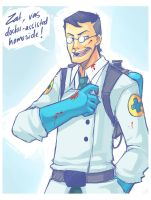 Gift - Medic for Torri by AzureReilight