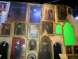 hogwarts school paintings. some . harrypotter by Sceptre63