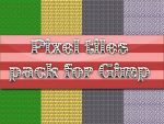 PixelArt tiles pack for Gimp by MrBeholder