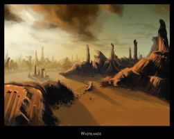 Wastelands by highdarktemplar