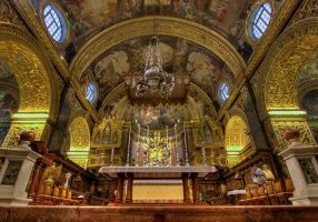 Valletta Co Cathedral HDR2 by Dogbytes