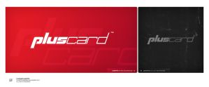 PlusCard logotype by Werrny