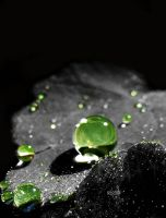 Green Rain by iriscup