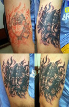 Viking cover-up by stigmatattoo
