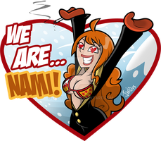 We are... Nami! by JaviDLuffy