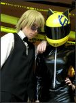 Mechacon 2012 Shizuo and Celty by xShizuchanx