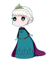 Free Elsa Pagedoll by Sarrie-Chan