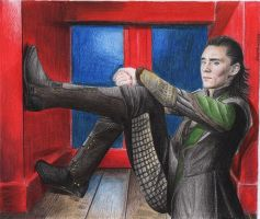 Loki - Tom Hiddleston by gwenhwyvar92