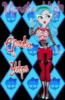 Ghoulia Yelps PinUp by kiss61