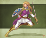 Reimagined: Zelda by smokewithoutmirrors