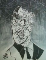 Twoface by ChrisFaccone
