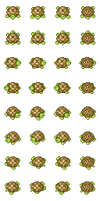 Turtle Monster set by Coolkid782