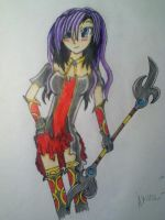 Akira for Tales of the Abyss by neon-talon-claw