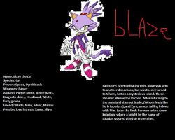 Blaze the Cat: Knight of Acorn Profile by BladetheEchidna1