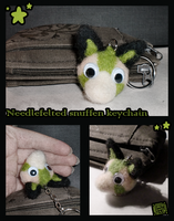 Needlefelted snuffen by griffsnuff