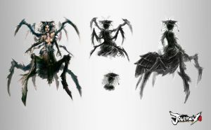 Spider Queen concept 03 by TheBastardSon