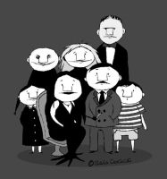 my ADDAMS FAMILY by XSilviettaX
