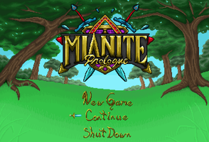 Mianite Prologue Title Screen by owlmaddie