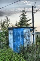Creepy Shack HDR by entropy462